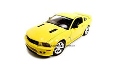 2007 SALEEN MUSTANG S281E YELLOW 1:18 DIECAST MODEL CAR BY WELLY 12569