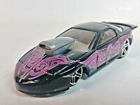 Hot Wheels 2001 Skin Deep Series PRO STOCK FIREBIRD Black 5Y-Spoke 1/64 Loose