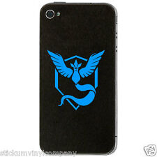 Pokemon Go Team Mystic Mobile Phone Sticker/Decal *Pokemon*Gaming*Team Blue*