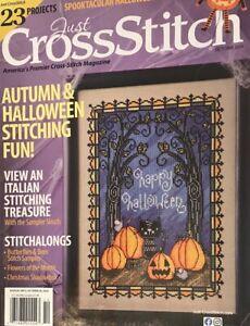 NEW! JUST CROSS-STITCH Magazine October 2020 JULIA LUCAS, Ursula Michael