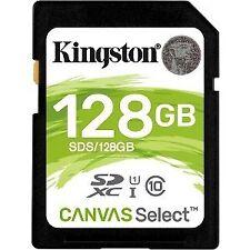 Kingston Canvas Select tarjeta SDXC 128GB C10 Uhs-i 80 MB/s