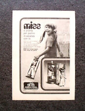 K646-Advertising Pubblicità-1973- MISS , EFFE BAMBOLE FRANCA