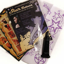JAGUA NERO TEMP TATTOO STAR KIT 8 Designs non Henné TM *