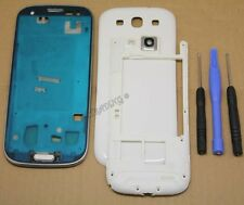 COQUE COMPLETE REMPLACEMENT FACADE CHASSIS POUR SAMSUNG GALAXY S3 i9300 BLANC