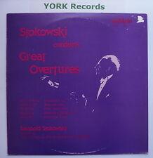 DA 9003 - STOKOWSKI CONDUCTS GREAT OVERTURES National PO - Ex Con LP Record