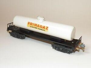 LR wagon bogies citerne à gaz PRIMAGAZ