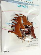 Horses #1 Brads Eyelet Outlet 10 Pieces