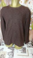 CALVIN KLEIN MENS WAFFLE KNIT CASUAL LONG SLEEVE JUMPER SIZE LARGE L DI