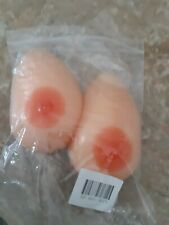 Fake Breasts Silicone Forms Boobs Mastectomy Crossdress Prosthesis Inserts