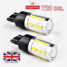 2x T20 DRL W21W 7443 CREE LED CANBUS XENON WHITE SIDELIGHT for VAUXHALL CORSA D