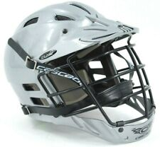 Cascade Lacrosse Helmet And Cage -Model Clh-2 Size Youth M/L Gray
