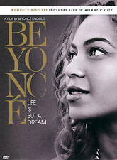 Beyonce: Life Is But a Dream (DVD, 2013, 2-Disc Set) + Live In Atlantic City