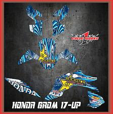 2017 Honda Grom & MSX125  SEMI CUSTOM GRAPHICS KITTOON