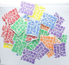 Adhesive Foam Letters 1040 pcs Stickers School Posters Signs Crafts