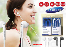 Lot OEM Original EG920 Headset Earphone w/remote for Samsung Galaxy Retail Pack