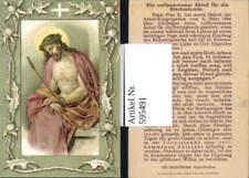 595491,Andachtsbild Heiligenbildchen Jesus Ein vollkommener Ablaß f. d. Sterbest