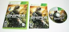 Sniper: Ghost Warrior (Microsoft Xbox 360, 2010) No Scratch on the CD