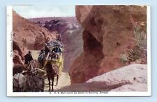 NEVADA BULLFROG MAIL COACH 1907 TO MISS LILLIAN ANDERSON OF TOPAZ, MONO COUNTY