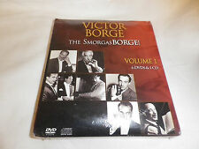 Victor Borge THE Smorgas BORGE! Volume 1 ( 6 DVD's & 1 CD ) NEW SEALED FREE S&H