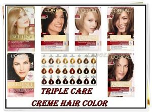 L'Oreal Excellence Creme Hair Colour Different Shades