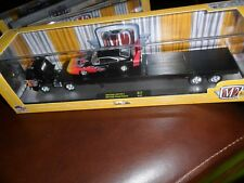 M2 Machines 1969 Dodge L-600 COE & 1969 Dodge Charger Daytona w/ Flames in Box
