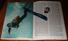 1960 TV ARTICLE~KEITH LARSEN SCUBA DIVING in THE AQUANAUTS~3 PAGES