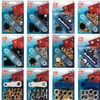 Prym Eyelets with Fixing Tool Starter Kit 4mm, 5mm, 8mm, 11mm & 14mm