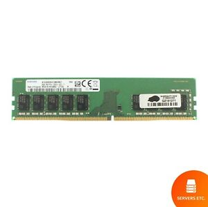 SAMSUNG 8GB 1RX8 PC4-2666V-E MEMORY MODULE - M391A1K43BB2-CRDQ