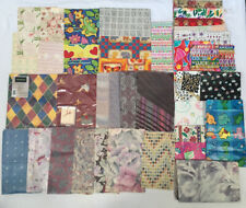 Vintage Flat Gift Wrapping Paper/tissue Lot Wrap Craft Gift- 1+lbs
