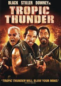 TROPIC THUNDER DVD BEN STILLER funny comedy movie