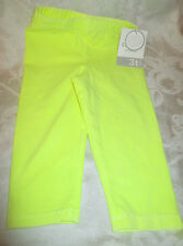 YELLOW LEGGINGS FROM CARTER'S-GIRLS SIZE 3T-NEW WITH TAGS