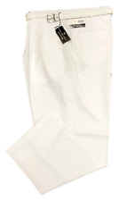 Mens Dress Pants - Pleated Slacks W/ Belt - Trousers - Sizes 28 to 42