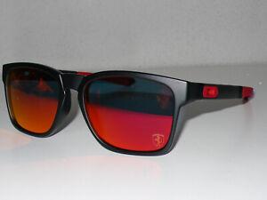 OCCHIALI DA SOLE NUOVI New Sunglasses OAKLEY CATALYST FERRARI  Outlet -30%