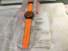 Swatch Watch New Gents Range Suob164 Orangeboost