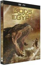 GODS OF EGYPT STEELBOOK 3D  BLU RAY ET DVD NEUF SOUS CELLOPHANE