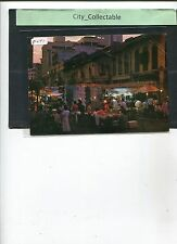 P071 # MALAYSIA PICTURE POST CARD * CHINATOWN BY NIGHT, KL