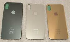 Vitre arrière - couvercle cache batterie avec adhésif pour iPhone XS