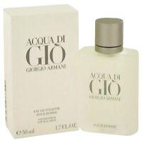 Acqua Di Gio Cologne By Giorgio Armani for Men 1.7 oz Eau De Toilette Spray