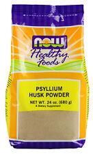 NOW Foods Psyllium Husk Powder, 24 Ounce