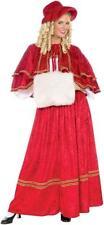 Forum Novelties Christmas Caroler Adult Womens Xmas Holiday Costume 70160