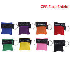 CPR Resuscitator Mask Keychain Key Ring Emergency Face Shield Mask Health C IO