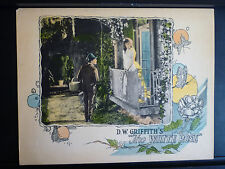 1923 THE WHITE ROSE - RARE VINTAGE D W GRIFFITH LOBBY CARD - SILENT - NICE SHAPE