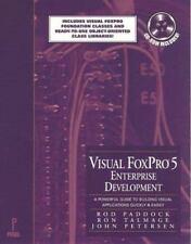 Visual FoxPro Enterprise Development, with CD-ROM, Talmage, Ron, Peterson, John,