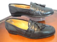 Johnston & Murphy Cellini ITALY soft leather tassel Loafers Mens Sz 10 M