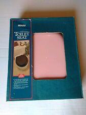 Vintage Pink Toilet Seat
