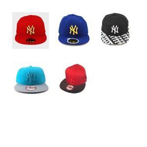 NEW YORK YANKEES BASEBALL CAP BY NEW ERA, BRAND NEW, VARIOUS STYLES & SIZES ETC