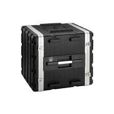 Vuelo 10U ABS 19 in (approx. 48.26 cm) Rack DJ PA Equipo de transporte caso Flightcase