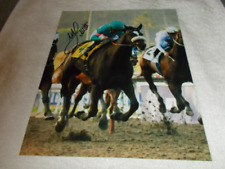 MIKE SMITH ZENYATTA 2009 BREEDERS CUP CLASSIC SIGNED 8x10 HORSE RACING PHOTO