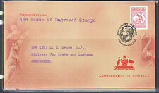2013 $10.00 KANGAROO FDC,   LIMITED EDITION.