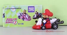 Super Mario Bros Figure 6cm Pull Back Car MARIO